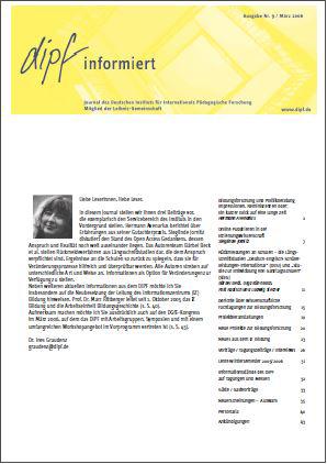 DIPF informiert Nr. 09